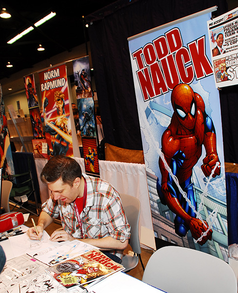 Todd Nauck at WonderCon Anaheim