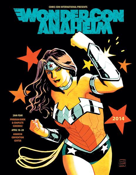 WonderCon Anaheim 2014 Program Book