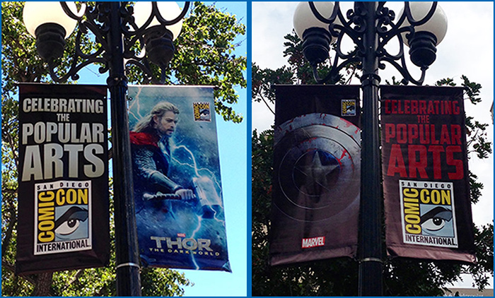 Comic-Con 2013 Downtown Banners