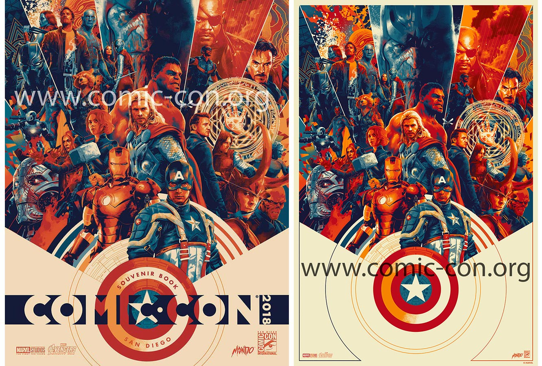 Comic-Con 2018 Exclusive Mondo/Marvel Print