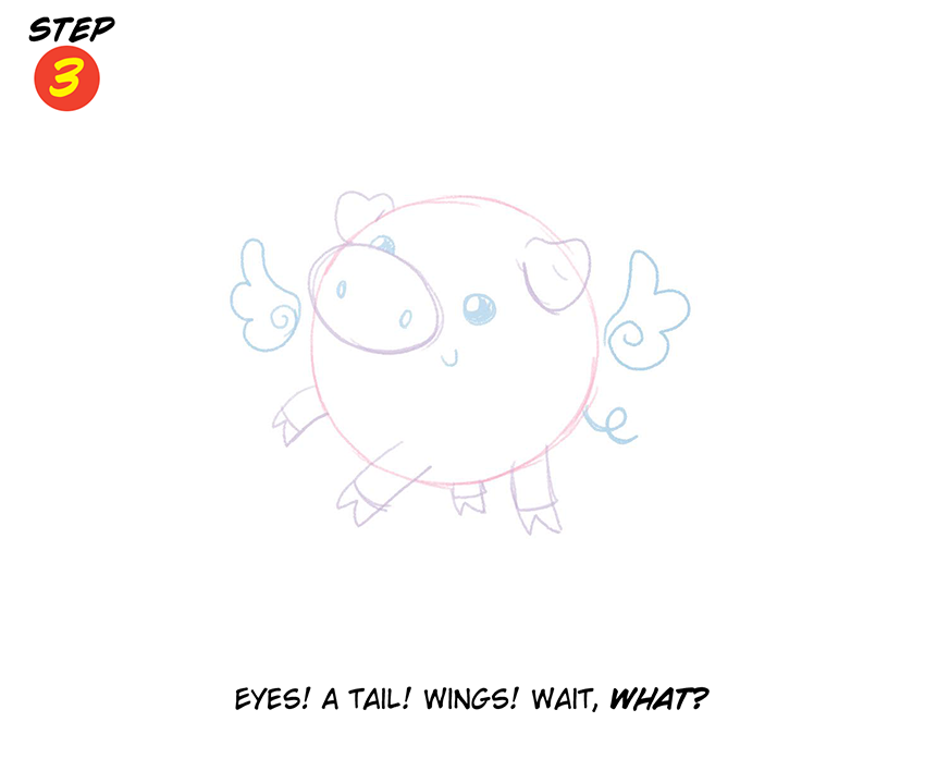 You Can Draw With Katie Cook When Pigs Fly