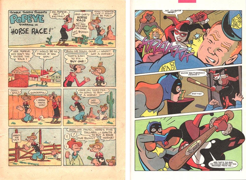Popeye and Harley Quinn