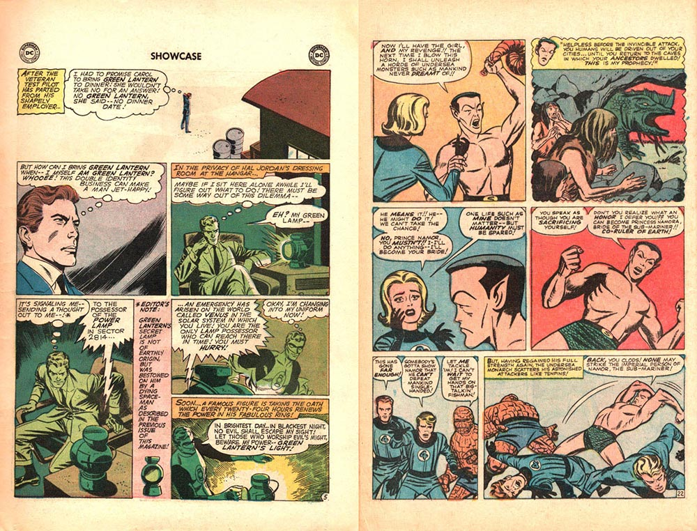 Showcase and Fantastic Four