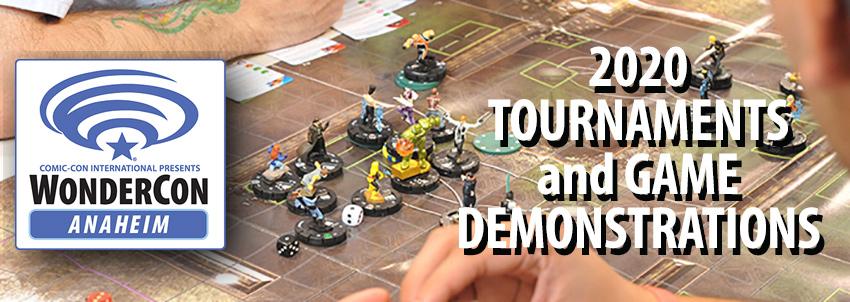 WonderCon Anaheim 2020 Games