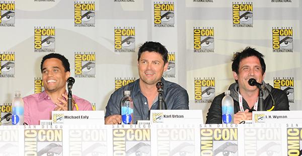 Almost Human panel at Comic-Con International 2013