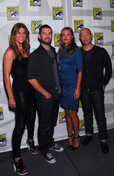 Cast of Banshee at Comic-Con International 2013