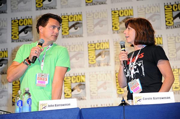 John Barrowman at Comic-Con International 2013