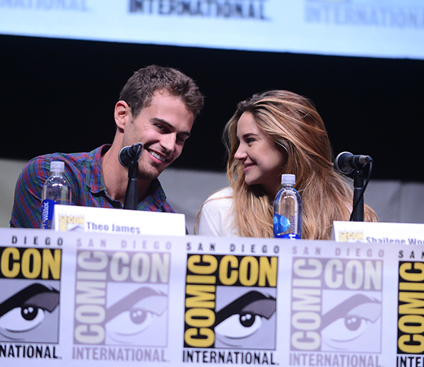 Divergent panel at Comic-Con International 2013