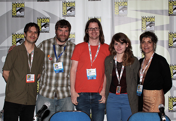 Humor in Graphic Novels panel at Comic-Con International 2013