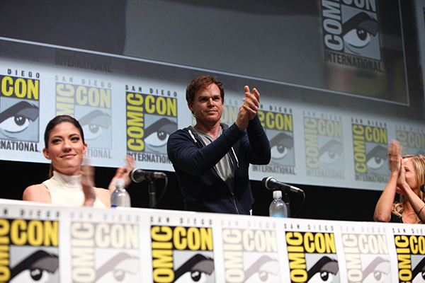 Dexter panel at Comic-Con International 2013