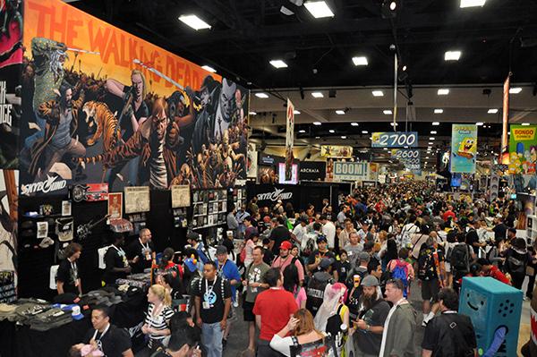 Image Comics booth at Comic-Con International 2013