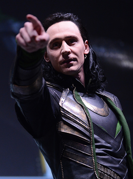 Loki at Comic-Con International 2013
