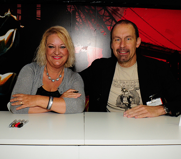 Wendy and Richard Pini at Comic-Con International 2013