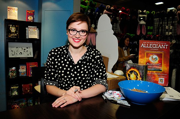 Veronica Roth at Comic-Con International 2013