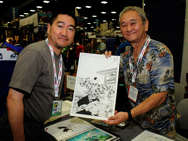 Stan Sakai at Comic-Con International 2013