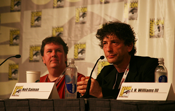 Sam Kieth and Neil Gaiman at Comic-Con International San Diego