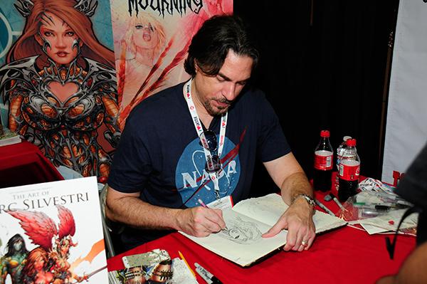 Marc Silvestri at Comic-Con International 2013