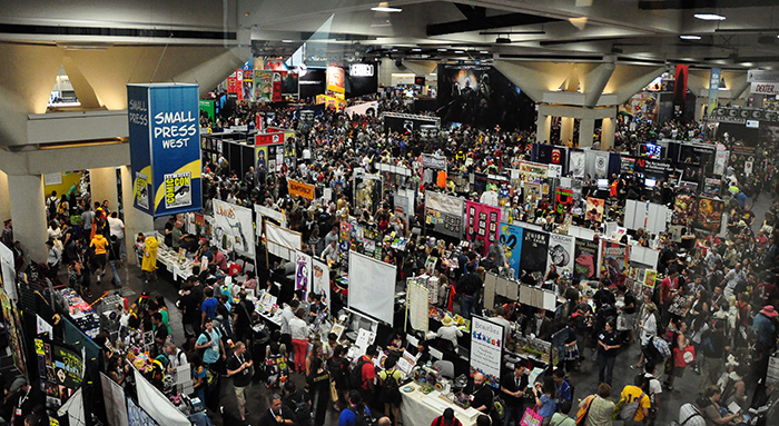 Small Press Area at Comic-Con International 2013