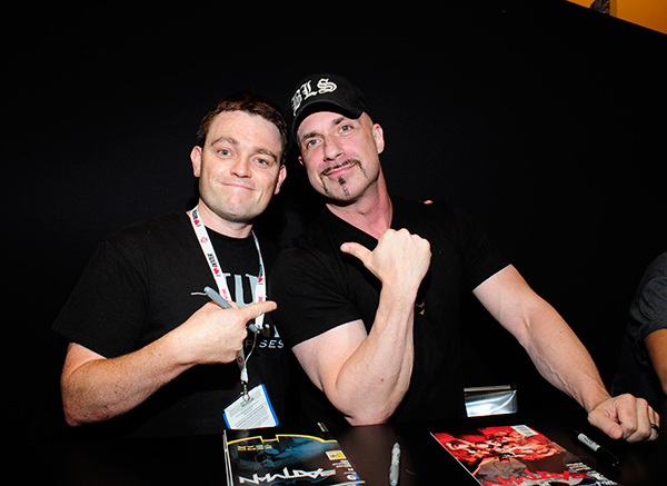Scott Snyder and Greg Capullo at Comic-Con International 2013