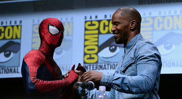 Amazing Spider-Man 2 panel at Comic-Con International 2013