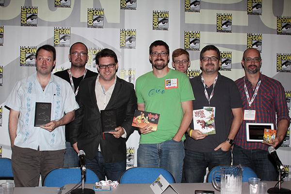 Top Shelf panel at Comic-Con International 2013