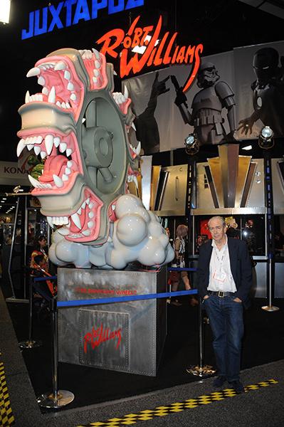 Robert Williams at Comic-Con International 2013