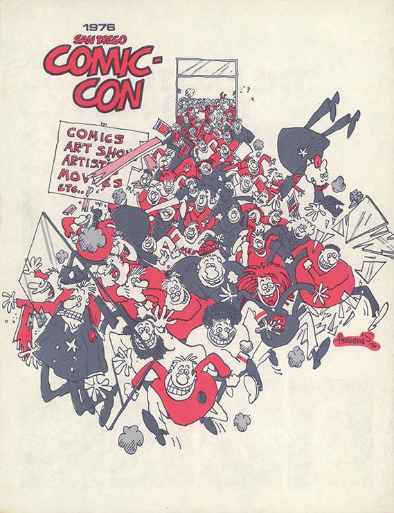 Comic-Con International Souvenir Book Cover 1976