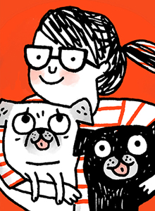 Gemma Correll at Comic-Con International, July 20–23 at the San Diego Convention Center