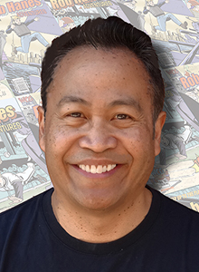 Randy Reynaldo at Comic-Con International, July 19-22 at the San Diego Convention Center