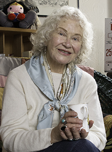 Trina Robbins at Comic-Con International 2018, July 19-23 at the San Diego Convention Center