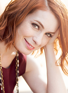 Felicia Day at Comic-Con 2020, July 23–26 at the San Diego Convention Center