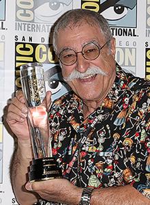 Sergio Aragonés at WonderCon Anaheim 2018, March 23–25 at the Anaheim Convention Center