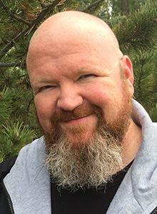 Kevin Hearne at WonderCon Anaheim 2018, March 23–25 at the Anaheim Convention Center