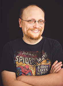 Damian Duffy at WonderCon Anaheim 2019, March 29-31 at the Anaheim Convention Center
