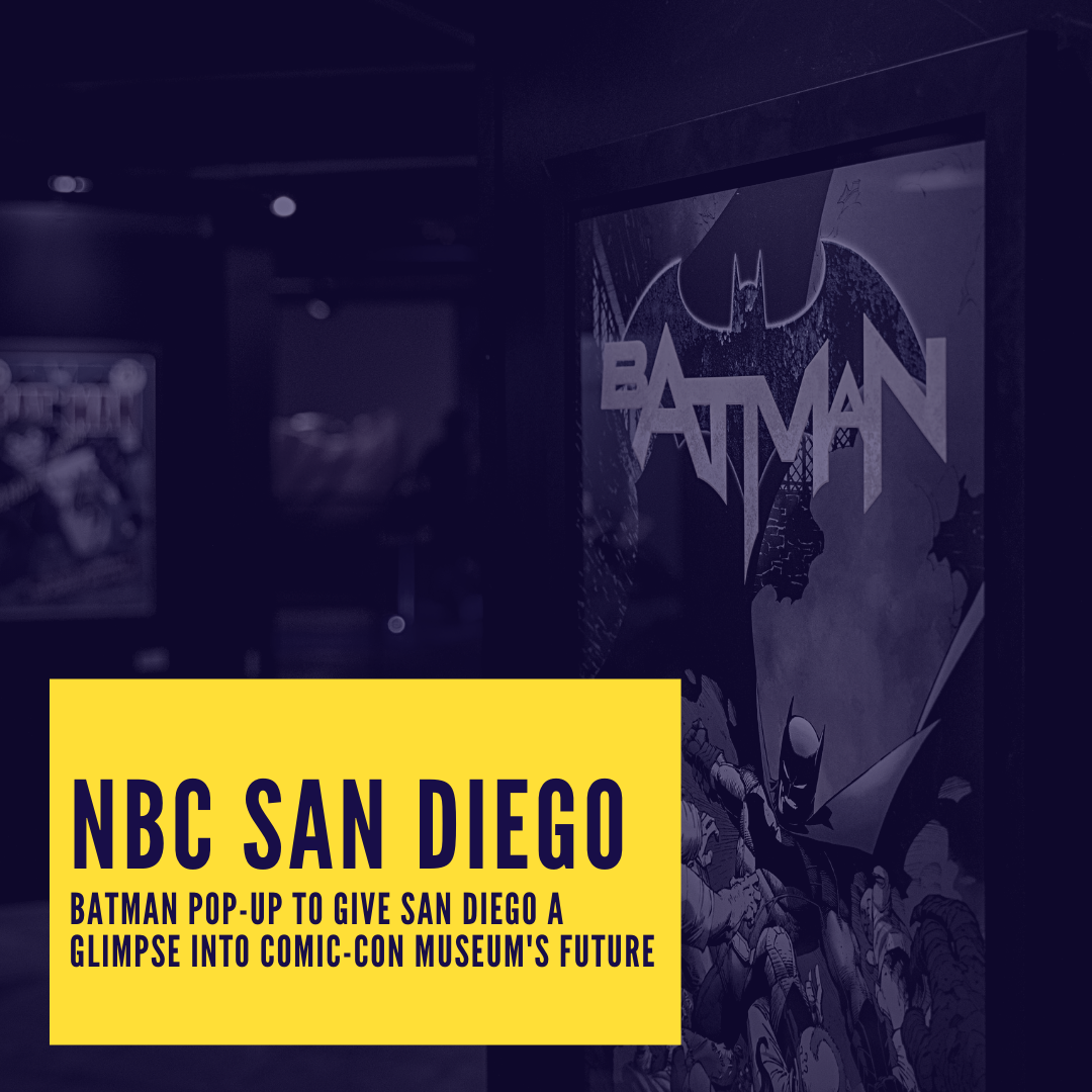 Icon for NBC San Diego - Batman pop-up to give San Diego a glimpse into Comic-Con Museum's future