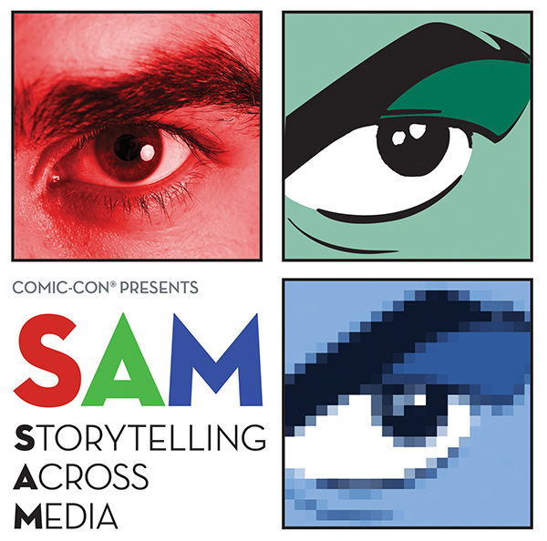 Comic-Con Presents SAM: Storytelling Across Media, Saturday, Oct. 26 at the Comic-Con Museum, Balboa Park