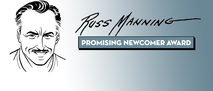 2015 Russ Manning Promising Newcomer Award