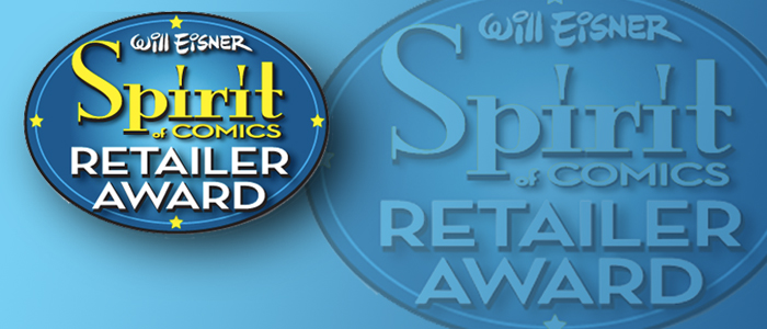 Will Eisner Spirit of Comics Retailer Award