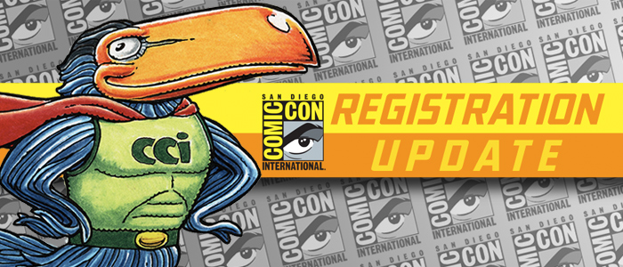 Comic-Con International 2016 Registration Update