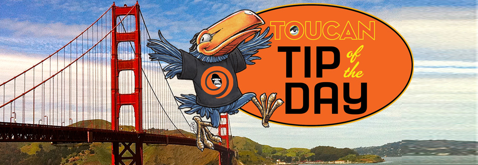 APE 2014 Toucan Tips of the Day
