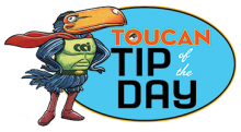 Comic-Con International Toucan Tip of the Day