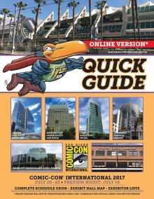 Comic-Con International 2017 Quick Guide