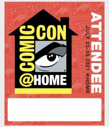 Comic-Con@Home Badge