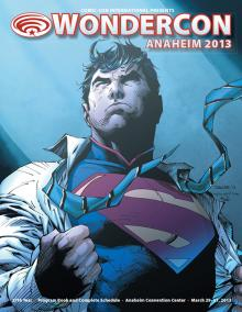 WonderCon Anaheim 2013 Program Book Cover
