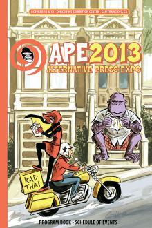 APE 2013 Program Book cover