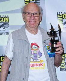Comic-Con 2013 Inkpot Award winner Gene Deitch