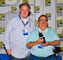Comic-Con 2013 Inkpot Award winner Tony Isabella