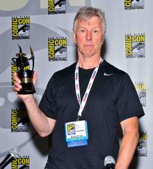 Comic-Con 2013 Inkpot Award winner Val Mayerik