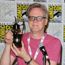 Comic-Con 2013 Inkpot Award winner Bruce Timm