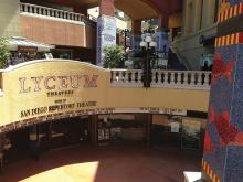Lyceum Theatre in Horton Plaza